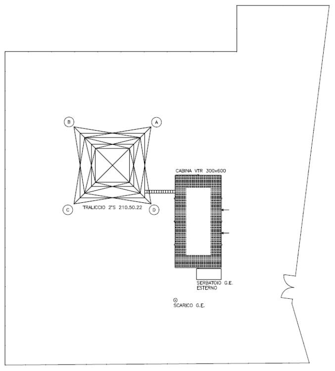 Italsite for Planimetrie della serra